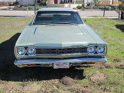1968 Plymouth Road Runner  1968 Plymouth Roadunner 383ci 727 Auto Trans Matching #'s