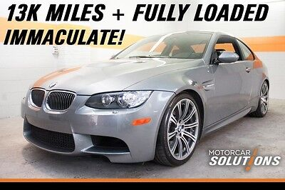 2009 BMW M3 Base Coupe 2-Door 2009 BMW M3 Coupe 13K Miles, EVERY FACTORY OPTION, Like New!