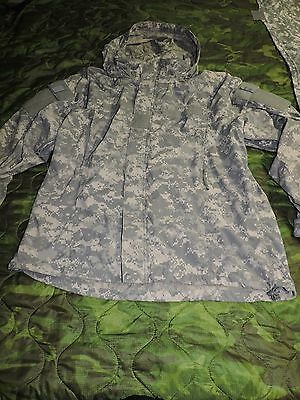 Us Army Jacket Soft Shell Cold Weather Acu Military