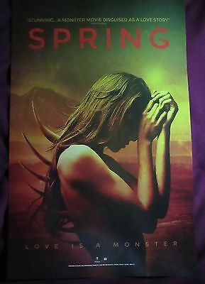 Spring / Old 37 Movie Promo Poster Comic Con 2015 Canadian Horror