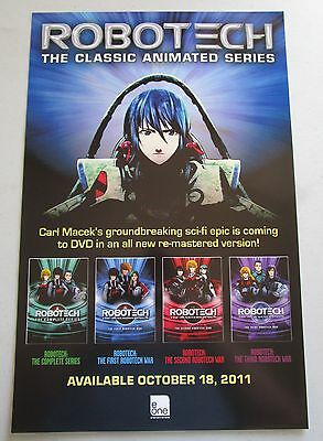 Robotech Classic Animated Series Robotech War Movie Poster Fan Expo 2011