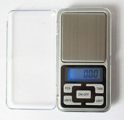 1PC 200g x 0.01g Pocket LCD Digital Scale Jewelry Gold Herb Balance Weight Gram