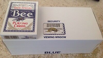 12 Decks Blue Casino Quality Bee Playing Cards Club Special Cambridge Finish NEW
