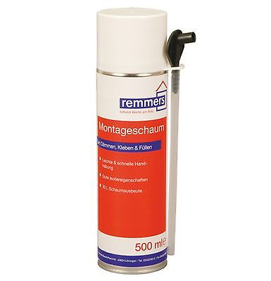 Remmers Insulating foam 1K 12 x 500 ml Fill and For sealing Cavities