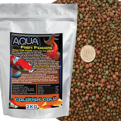 Aquamunch Goldfish Gold Fish Food Pellet 2.5kg Bucket