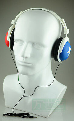Fiberglass Male Mannequin Head For Headphone And Glass Display