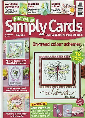 'Australian Simply Cards' Issue 81 (Jun 2015)