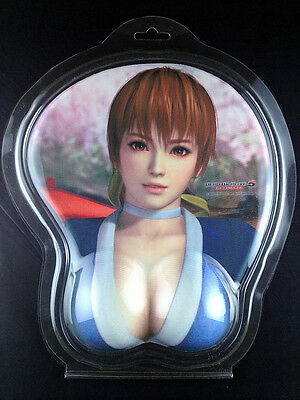 Dead or Alive 5 Ultimate Kasumi 3D Mouse Pad Oppai official Koei Tecmo Games New
