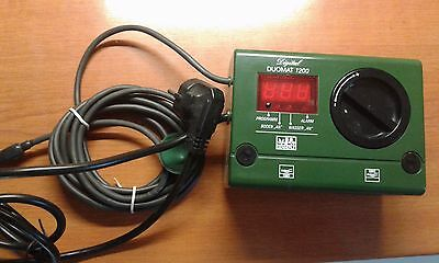 Dennerle Duomat 1200 Comfort Double Digital Thermostat - Substrate Cable/Heater