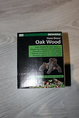 Dennerle 5848 NanoCrusta OakWood Tree Stump OrnamentforNano Fish Tanks Aquariums