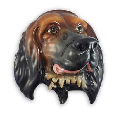 Rare Beswick Red Setter Dog Wall Plaque