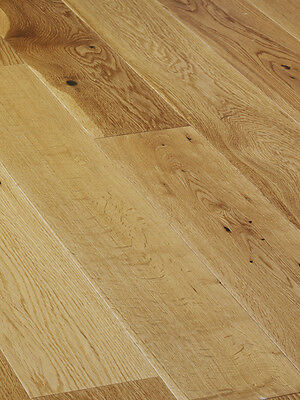 Oak Rustic Lacquered Engineered Wood