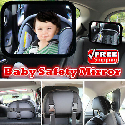 New Safety Mirror For Monitor Baby Seat Inside Car Safe For Driving n Watch Baby