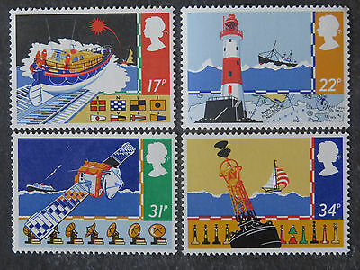 Great Britain Safety At Sea Set of 4 - 1985 - MUH