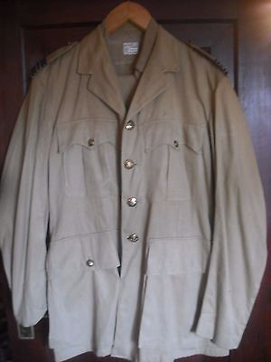 Ww2 Era Or Later Raf Officers Tropical Kd Jacket  Blouse And Trousers Large Size