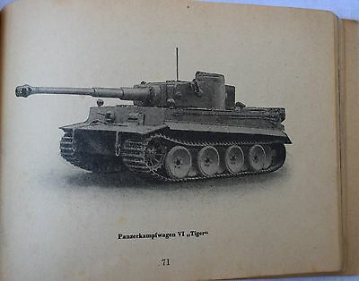 WW2 german military book the tank troops