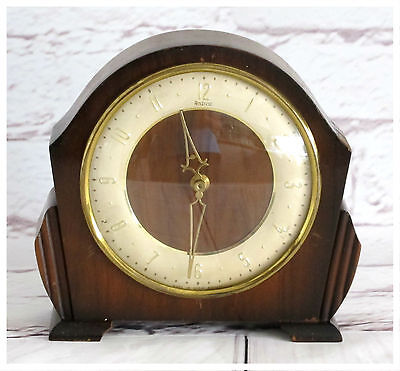 Vintage Andrew Wooden Mantle Clock. Not tested