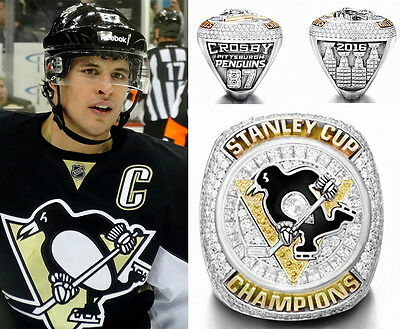 2016 Pittsburgh Penguins Stanley Cup Championship Copper Ring