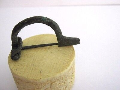 A Roman Bow Brooch 1St-3Rd Century Ad In Very Good Condition