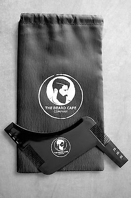 The Beard Cape Company Best Beard Shaping & Styling Template Comb/Tool Accessory