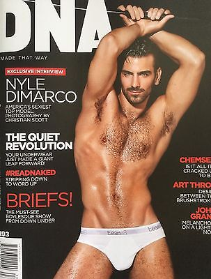 DNA Magazine #193 Exclusive Interview Nyle DiMarco America's Sexiest Top Model