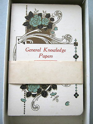 Antique Chas Goodall Card Tea Game Complete Answers & Box 1898 Playing Cards