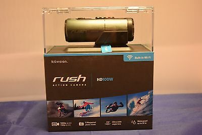 Kitvision rush waterproof full HD 1080p 30 fps sports action camera grey