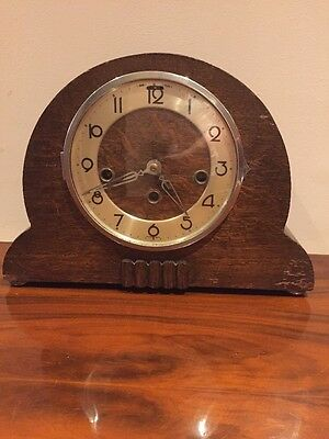 Art Deco Clock That Needs Attention And Some TLC
