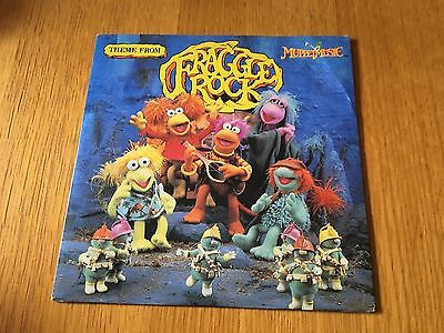 "The Fraggles - Fraggle Rock Theme - 1984 7"" P/s Ex/ex"