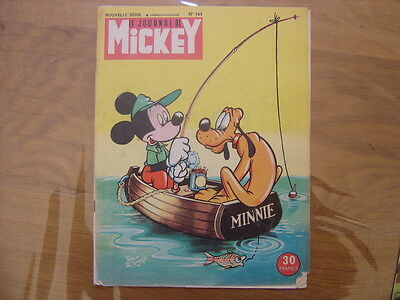1955 Le Journal de MICKEY nouvelle serie numero 144