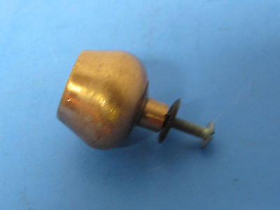 Vintage Furniture Pull Knob Copper Finish