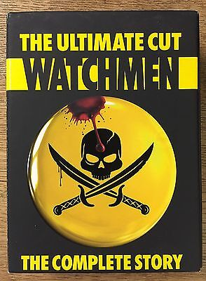 The Ultimate Cut Watchmen 5-Disc Set DVD 2009 Complete Story Motion Comic