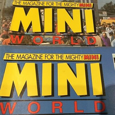 Mini World magazine collection (from issue No 2)