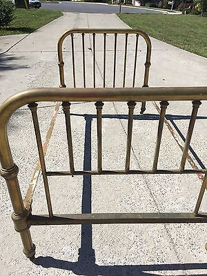 Antique Day Bed - Brass