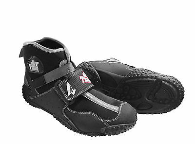 Mens Jettribe Dual Ride Boots Neoprene PWC HighTop Water Shoes Black New Size 12