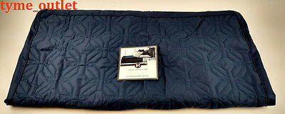 Hotel Collection Pillowsham Quilted Imperial 1 EURO SHAM Blue Geometric 316