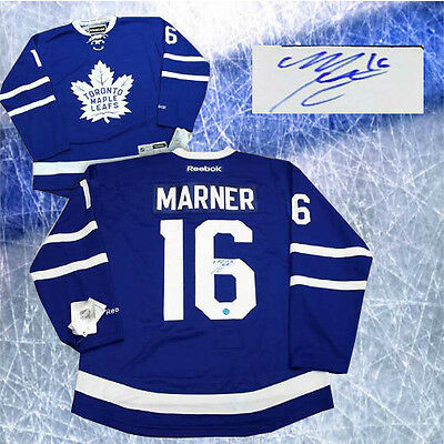 Mitch Marner Signed Toronto Maple Leafs Reebok Premier Home Jersey