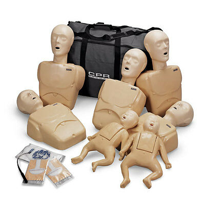 CPR Prompt® 7 Packs: 5-Adult/Child & 2-Infant Combo Pack TAN LF06702U
