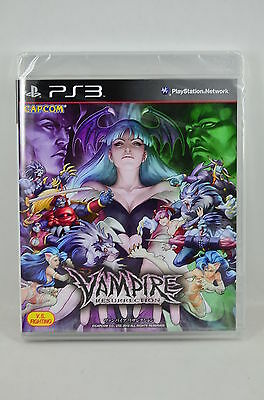 NEW PS3 Vampire Resurrection (REAL GAME Bluray DISC) -English/ Japanese
