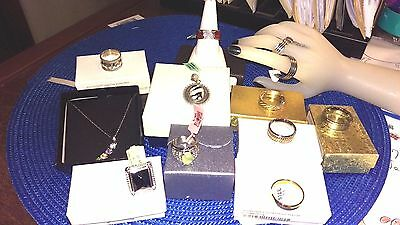 Awesome Mixed Jewelry Lot - Sterling Silver, Stainless, Titanium and More