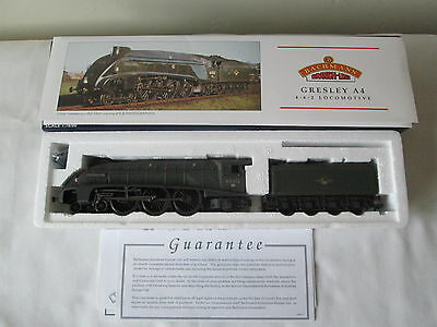 Bachmann OO Gauge 31-960A A4 60015 'Quicksilver' BR Green Weathered