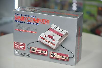 Nintendo Official Family Computer mini Famicom FC NES Console with 2 Controllers