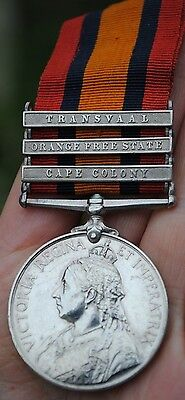 QSA Queens south africa medal to Shropshire Light infantry