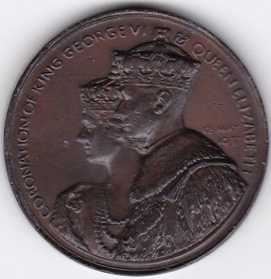 1937 King George VI & Queen Elizabeth Coronation Medal***Collectors***