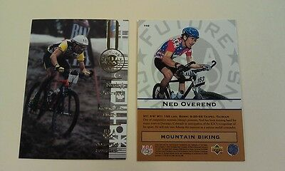 Ned Overend Mountain Biking 1996 UD Upper Deck Olympic Card USA Gold Champions