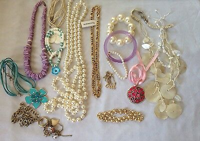 Joblot Modern Vintage High Street Boho Hippie Festival Necklaces Bracelets