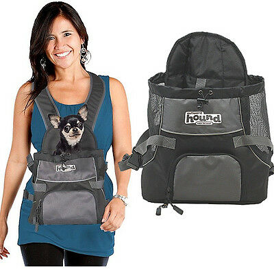 OUTWARD HOUND Grey PoochPouch Front Dog Designer Carrier Size M 0-9kg