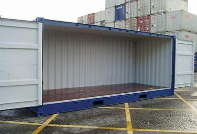 20ft NEW build  Shipping container with FULL SIDE OPENING access