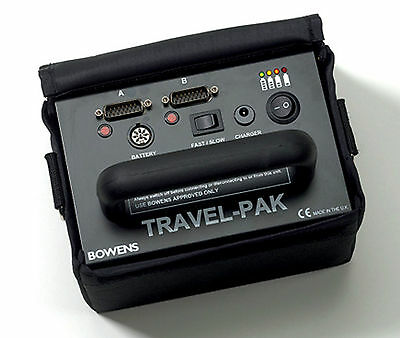 Bowens Travelpak Battery BW7630 With Charger Photography Camera Lights Flash