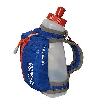 Ultimate Direction Fastdraw 10 - ultralight handheld running bottle and storage